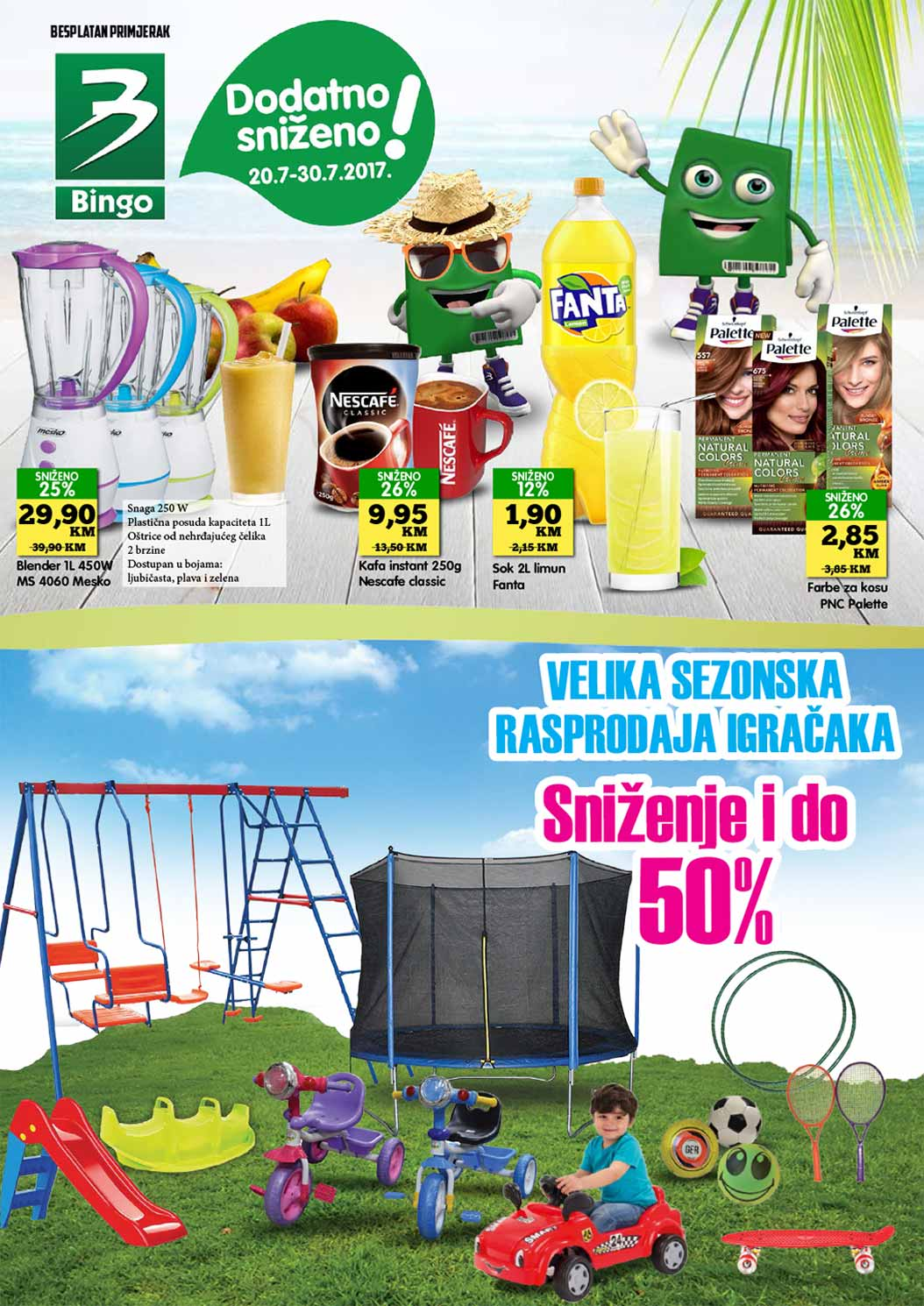 Bingo katalog - 10.08.2017.