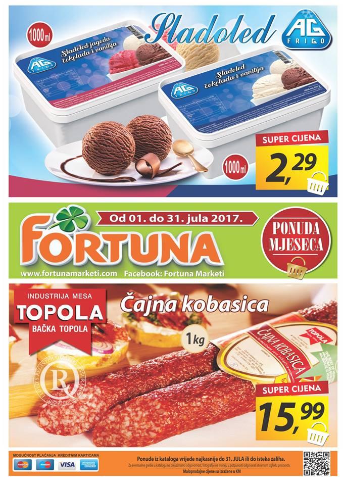 Fortuna katalog - 31.07.2017.