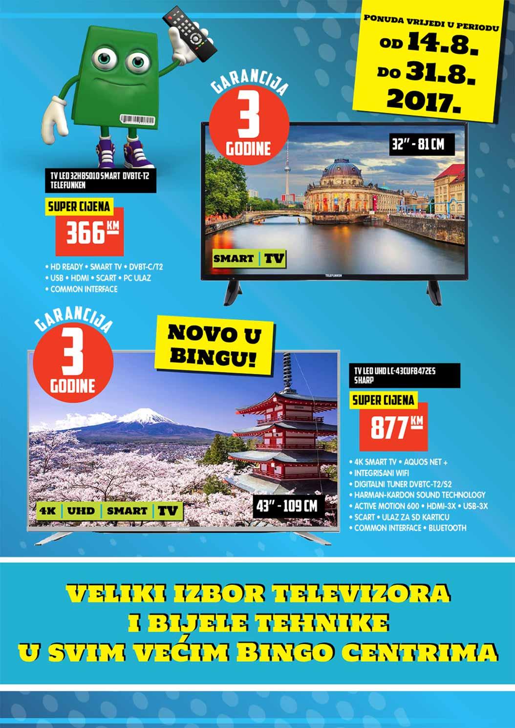 Bingo katalog 7 veličanstvenih - 31.08.2017.