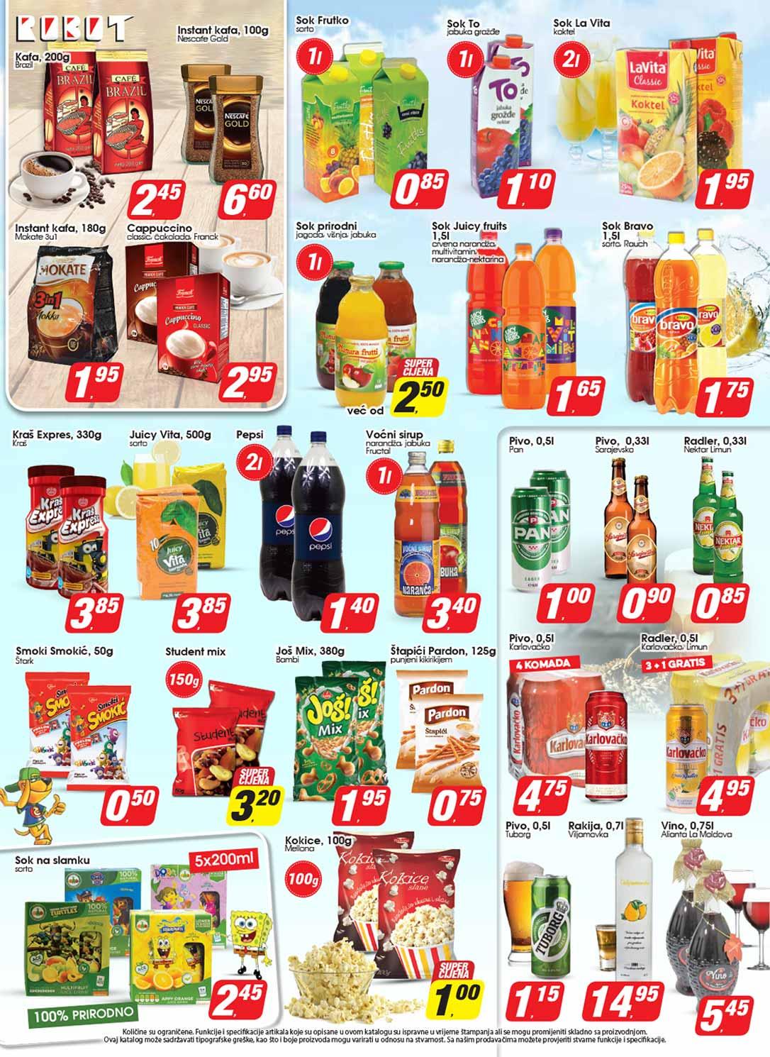 Robot katalog prehrana - 31.08.2017.