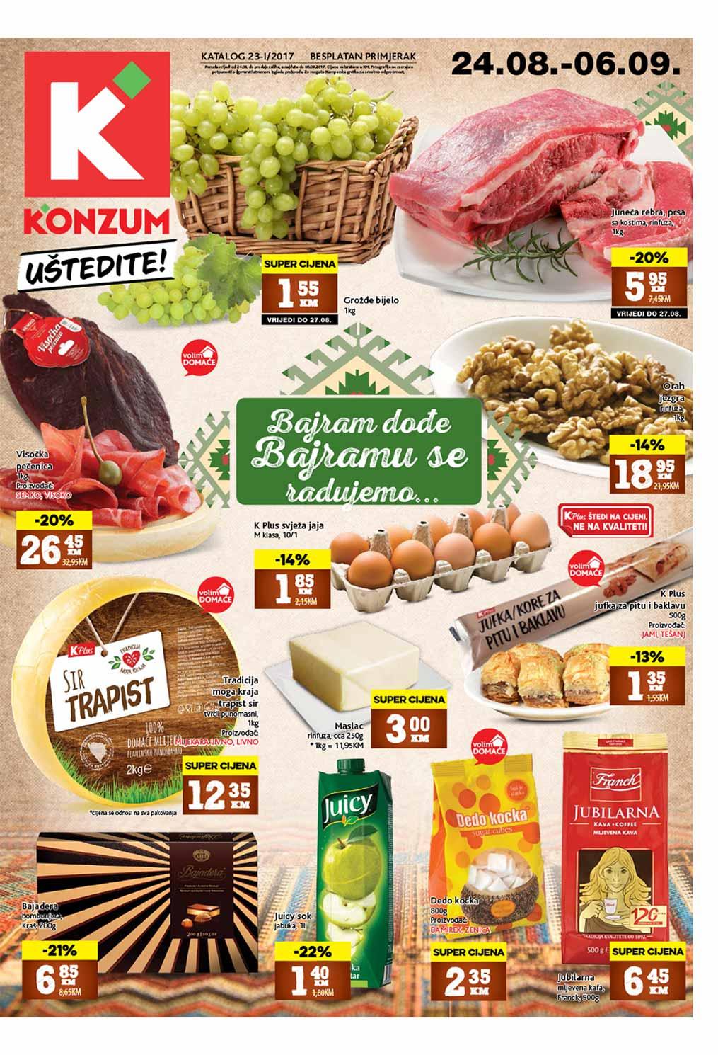 Konzum katalog - 06.09.2017.