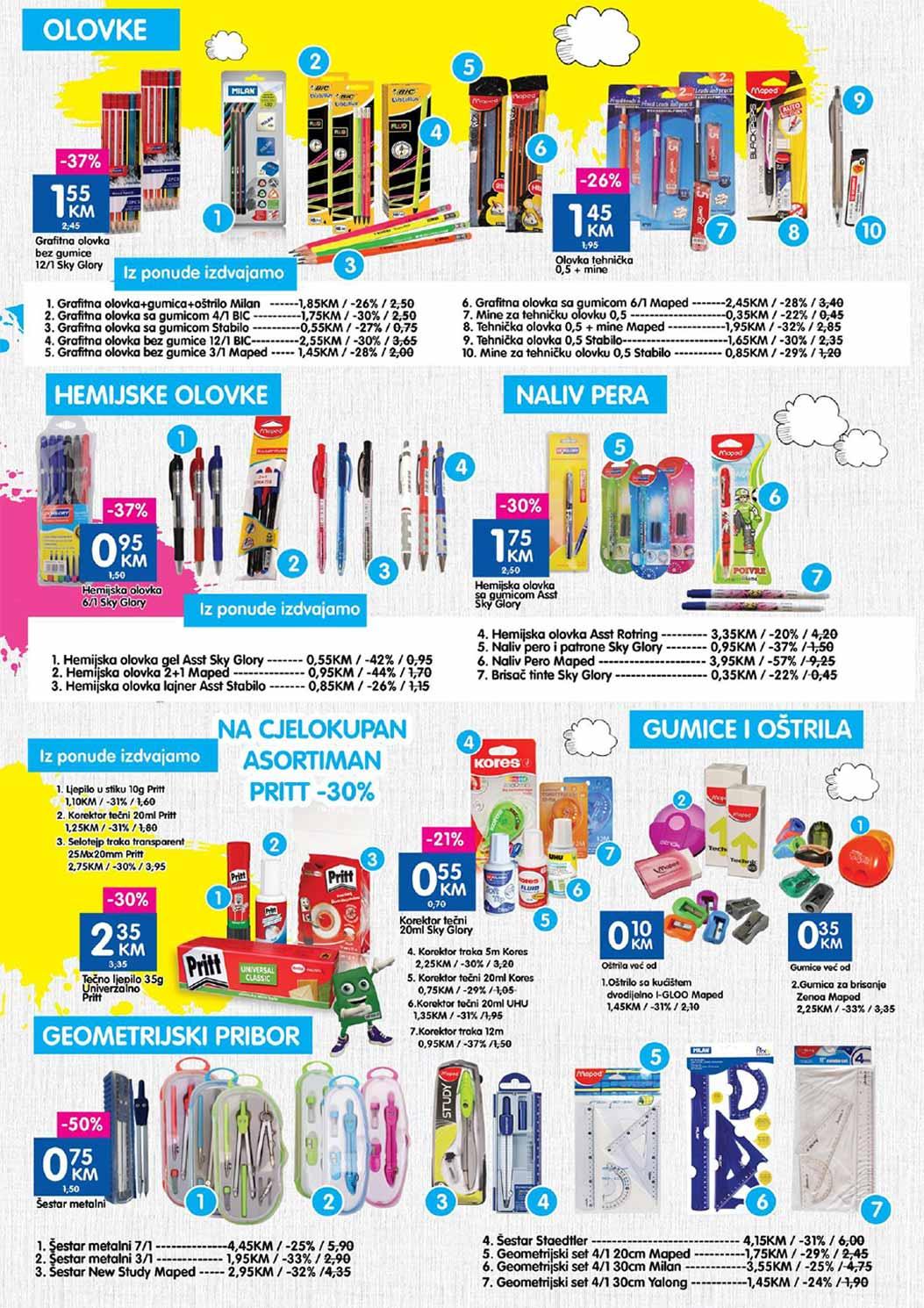 Bingo katalog škola - 10.09.2017.