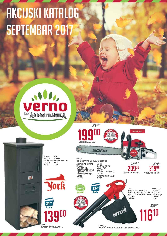 Verno – septembar 2017 (vrt)