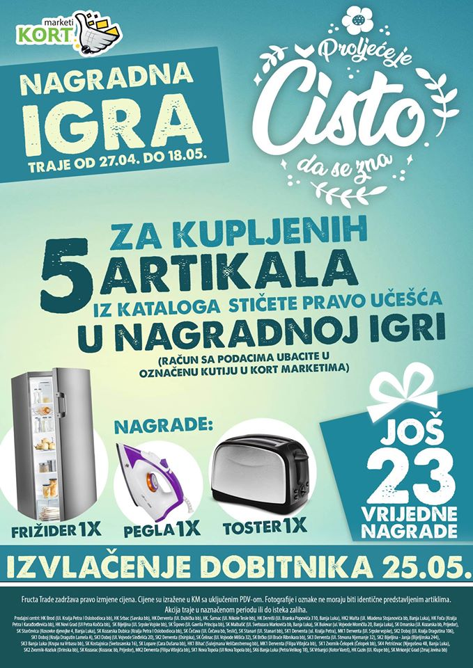 Fructa trade (Kort marketi)